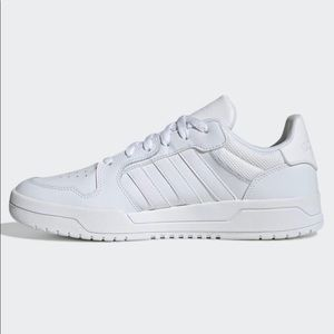 adidas white leather sneakers, Entrap EH1865